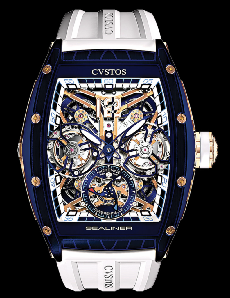 CVSTOS Sealiner Double Differential Tourbillon S